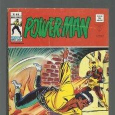 Cómics: POWER-MAN 9, 1973, VERTICE, BUEN ESTADO. Lote 125371311