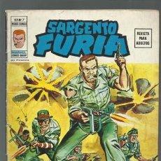 Cómics: SARGENTO FURIA VOL. 2 Nº 7, 1975, VERTICE, BUEN ESTADO. Lote 125371435