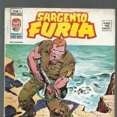 Cómics: SARGENTO FURIA VOL. 2 Nº 16, 1975, VERTICE, BUEN ESTADO. Lote 125371539