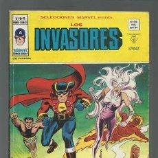Cómics: SELECCIONES MARVEL 15: LOS INVASORES, 1977, VERTICE, BUEN ESTADO. Lote 125371855