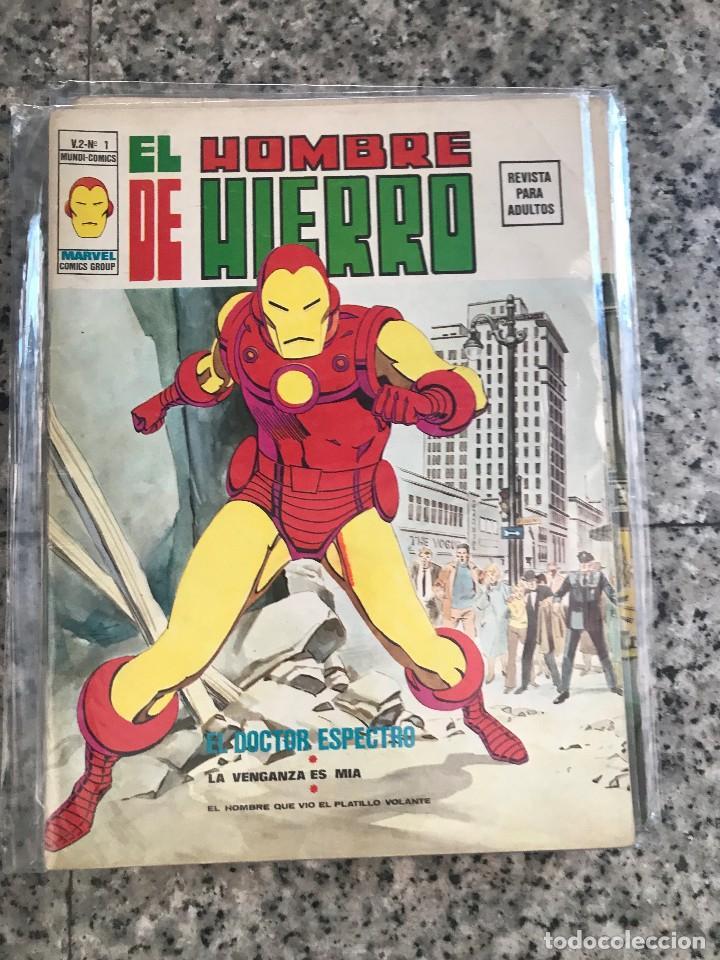 HOMBRE DE HIERRO V2 VERTICE MAS DOS EXTRAS (Tebeos y Comics - Vértice - Hombre de Hierro)