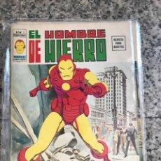 Cómics: HOMBRE DE HIERRO V2 VERTICE MAS DOS EXTRAS. Lote 126001627