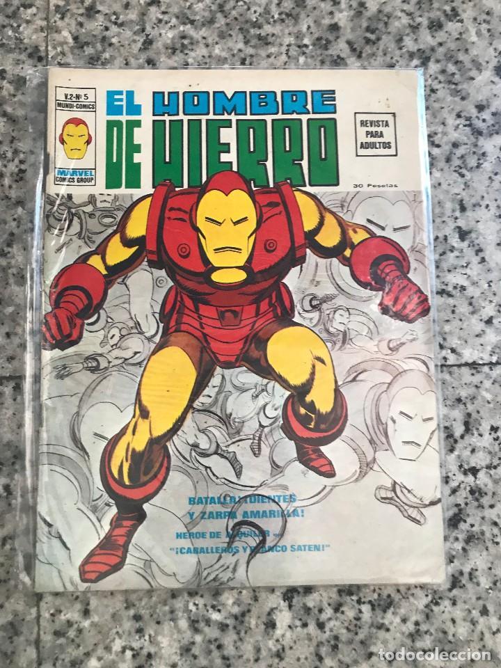 Cómics: Hombre de hierro V2 Vertice mas dos extras - Foto 5 - 126001627