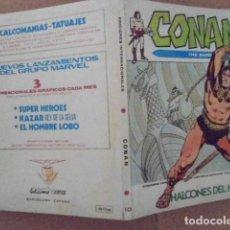 Cómics: VERTICE V1 CONAN Nº 10 MUY BUEN ESTADO. Lote 126022795