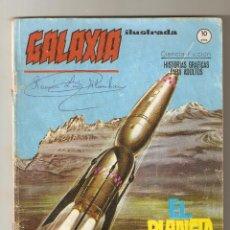 Cómics: GALAXIA ILUSTRADA VOL1 - Nº 10 - EL PLANETA DESCONOCIDO - EDITORIAL VERTICE - 1966 - 10 PTS -. Lote 126024259