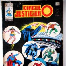 Comics : CÍRCULO JUSTICIERO VOL.1 Nº6 ( LA LIGA DE LA JUSTICIA ). Lote 126545331