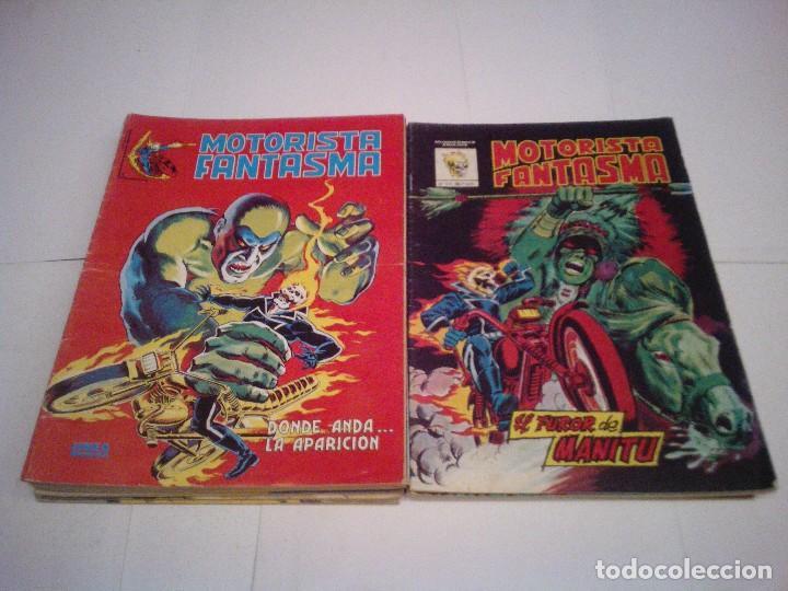 MOTORISTA FANTASMA - MUNDICOMICS + SURCO - VERTICE - COLEC COMPLETA - BUEN ESTADO - CJ 37 - GORBAUD (Tebeos y Comics - Vértice - Surco / Mundi-Comic)