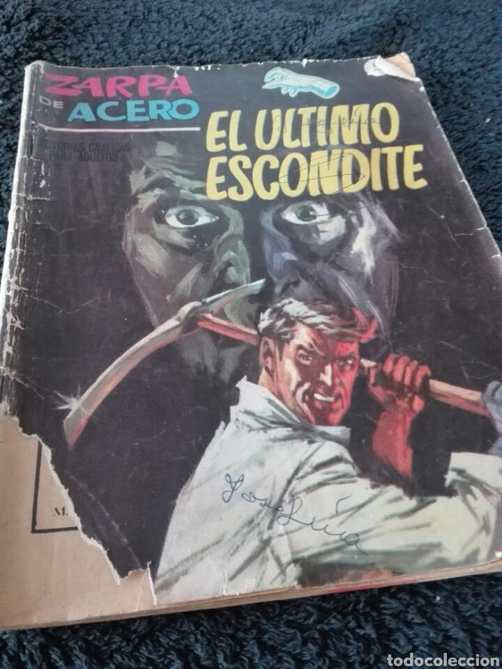 COMIC VERTICE ZARPA DE ACERO (Tebeos y Comics - Vértice - Otros)