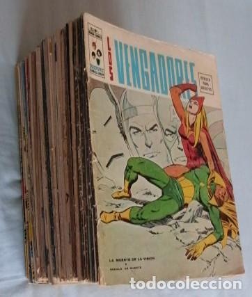COLECCION COMPLETA LOS VENGADORES V.2 (Tebeos y Comics - Vértice - Vengadores)