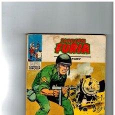 Comics : SARGENTO FURIA Nº 14. TACO VÉRTICE,1972.. Lote 127259083