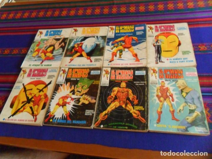 BUEN PRECIO, VÉRTICE VOL. 1 EL HOMBRE DE HIERRO NºS 4 9 12 13 22. 1969. 25 PTS. (Tebeos y Comics - Vértice - Hombre de Hierro)