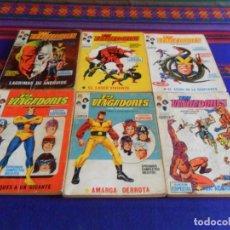 Cómics: BUEN PRECIO, VÉRTICE VOL. 1 LOS VENGADORES 5 10 13 14 15 26. 1970. 25 PTS. . Lote 127516659