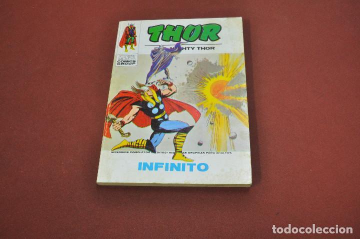 THOR INFINITO TOMO 38 AÑO 1974 - CO2 (Tebeos y Comics - Vértice - Thor)