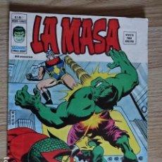 Cómics: LA MASA VOL. 3 Nº 7 - ¡AL FIN OBTENDRE MI VENGANZA! - ED. VERTICE 1974 - 50 PÁGINAS. Lote 127557167