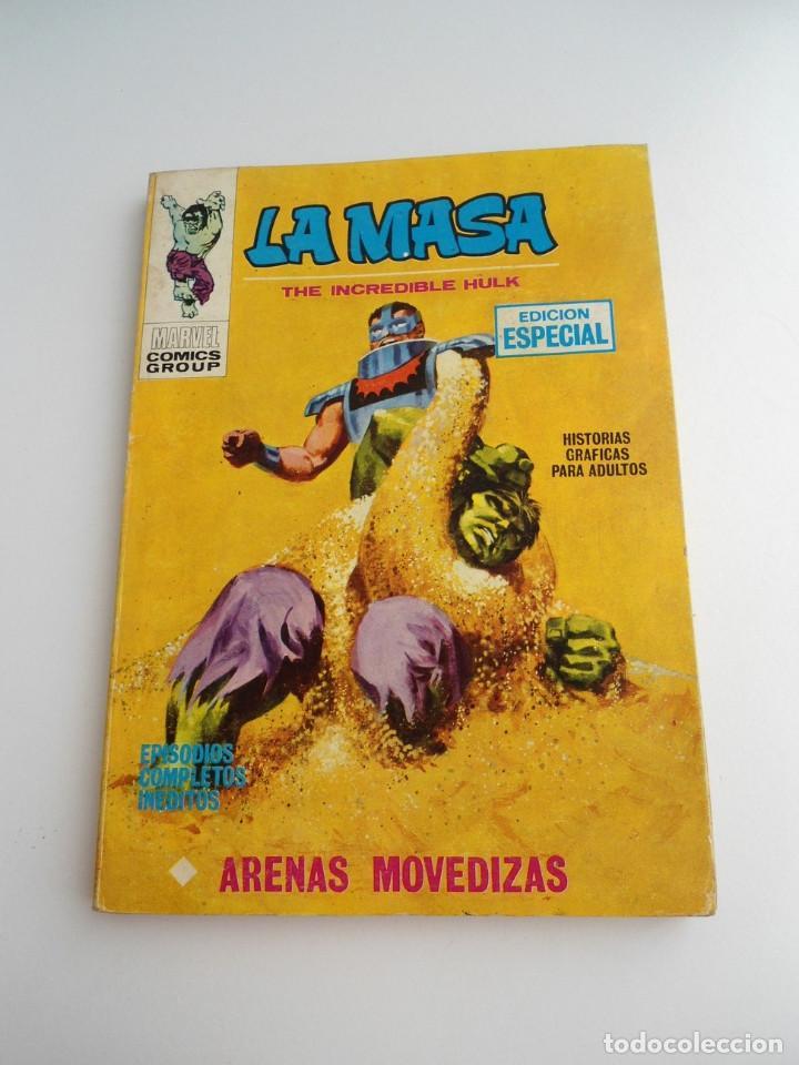 LA MASA Nº 6 - ARENAS MOVEDIZAS - EDICIONES INTERNACIONALES VERTICE 1971 - COMPLETO (Tebeos y Comics - Vértice - La Masa)