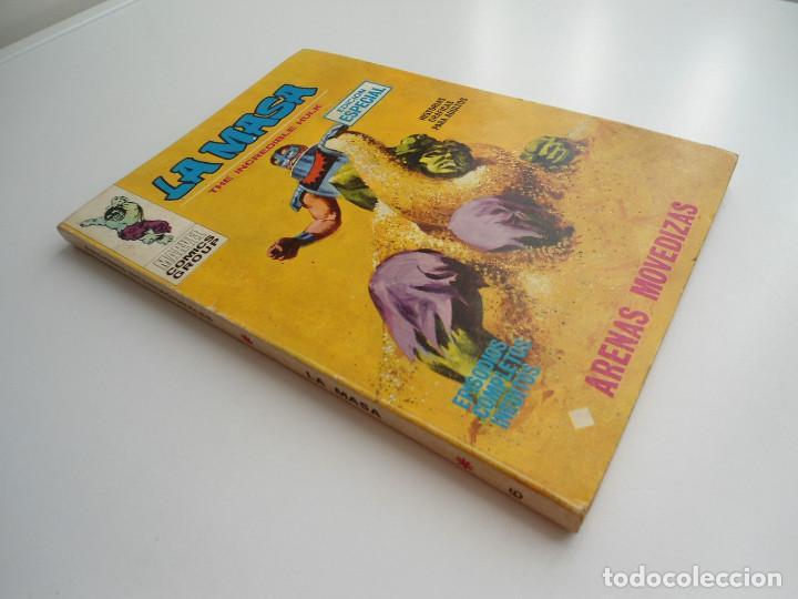 Cómics: LA MASA nº 6 - ARENAS MOVEDIZAS - EDICIONES INTERNACIONALES VERTICE 1971 - COMPLETO - Foto 2 - 127621959