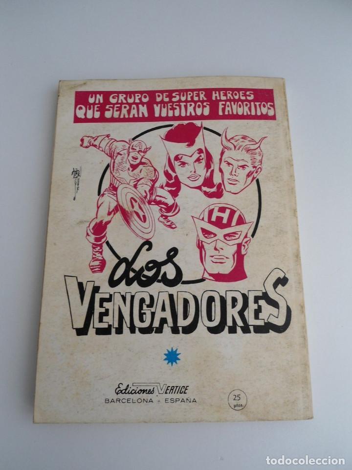 Cómics: LA MASA nº 6 - ARENAS MOVEDIZAS - EDICIONES INTERNACIONALES VERTICE 1971 - COMPLETO - Foto 4 - 127621959