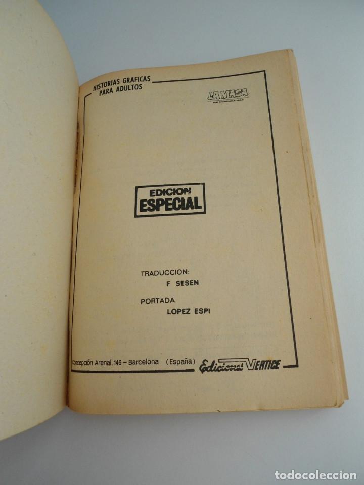 Cómics: LA MASA nº 6 - ARENAS MOVEDIZAS - EDICIONES INTERNACIONALES VERTICE 1971 - COMPLETO - Foto 5 - 127621959