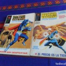 Cómics: BUEN ESTADO Y COMPLETO, VÉRTICE VOL. 1 DOCTOR EXTRAÑO NºS 2 Y 14. 1970. 25 PTS. . Lote 127623495