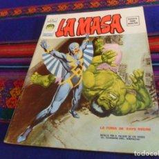 Cómics: MUY BUEN ESTADO, VÉRTICE VOL. 2 LA MASA Nº 1. 30 PTS. 1974. LA FURIA DE RAYO NEGRO. DIFÍCIL.. Lote 127641355