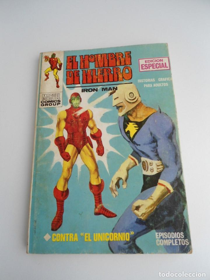 EL HOMBRE DE HIERRO IRON MAN Nº 2 - CONTRA EL UNICORNIO -ED. INTERNACIONALES VERTICE 1969 - COMPLETO (Tebeos y Comics - Vértice - Hombre de Hierro)