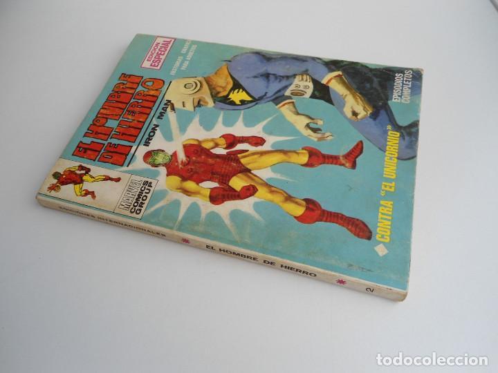 Cómics: EL HOMBRE DE HIERRO IRON MAN nº 2 - CONTRA EL UNICORNIO -ED. INTERNACIONALES VERTICE 1969 - COMPLETO - Foto 2 - 127646679