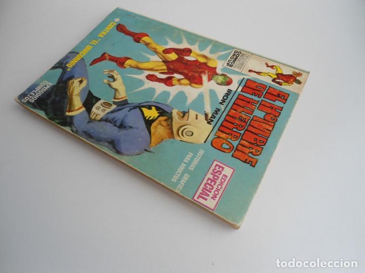 Cómics: EL HOMBRE DE HIERRO IRON MAN nº 2 - CONTRA EL UNICORNIO -ED. INTERNACIONALES VERTICE 1969 - COMPLETO - Foto 3 - 127646679