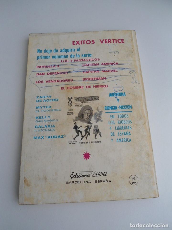 Cómics: EL HOMBRE DE HIERRO IRON MAN nº 2 - CONTRA EL UNICORNIO -ED. INTERNACIONALES VERTICE 1969 - COMPLETO - Foto 4 - 127646679