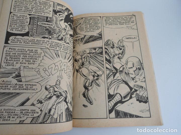 Cómics: EL HOMBRE DE HIERRO IRON MAN nº 2 - CONTRA EL UNICORNIO -ED. INTERNACIONALES VERTICE 1969 - COMPLETO - Foto 10 - 127646679