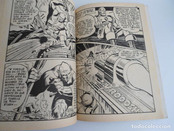 Cómics: EL HOMBRE DE HIERRO IRON MAN nº 2 - CONTRA EL UNICORNIO -ED. INTERNACIONALES VERTICE 1969 - COMPLETO - Foto 11 - 127646679