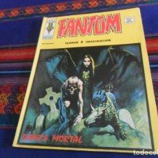Cómics: VÉRTICE VOL. 2 FANTOM Nº 20. 35 PTS. 1975. DANZA MORTAL. BUEN ESTADO Y DIFÍCIL.. Lote 127649611