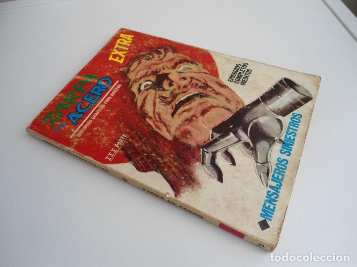 Cómics: ZARPA DE ACERO EXTRA nº 25 - MENSAJES SINIESTROS - EDICIONES INTERNACIONALES VERTICE 1969 - COMPLETO - Foto 2 - 127651327