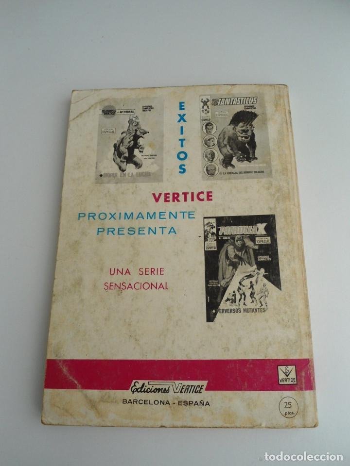 Cómics: ZARPA DE ACERO EXTRA nº 25 - MENSAJES SINIESTROS - EDICIONES INTERNACIONALES VERTICE 1969 - COMPLETO - Foto 4 - 127651327