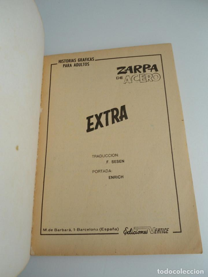 Cómics: ZARPA DE ACERO EXTRA nº 25 - MENSAJES SINIESTROS - EDICIONES INTERNACIONALES VERTICE 1969 - COMPLETO - Foto 5 - 127651327