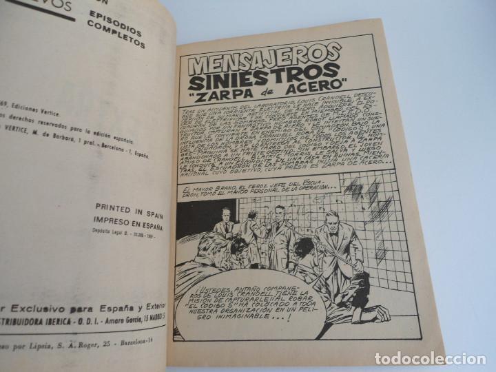 Cómics: ZARPA DE ACERO EXTRA nº 25 - MENSAJES SINIESTROS - EDICIONES INTERNACIONALES VERTICE 1969 - COMPLETO - Foto 6 - 127651327