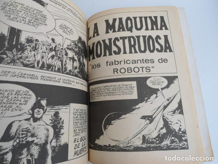 Cómics: ZARPA DE ACERO EXTRA nº 25 - MENSAJES SINIESTROS - EDICIONES INTERNACIONALES VERTICE 1969 - COMPLETO - Foto 11 - 127651327