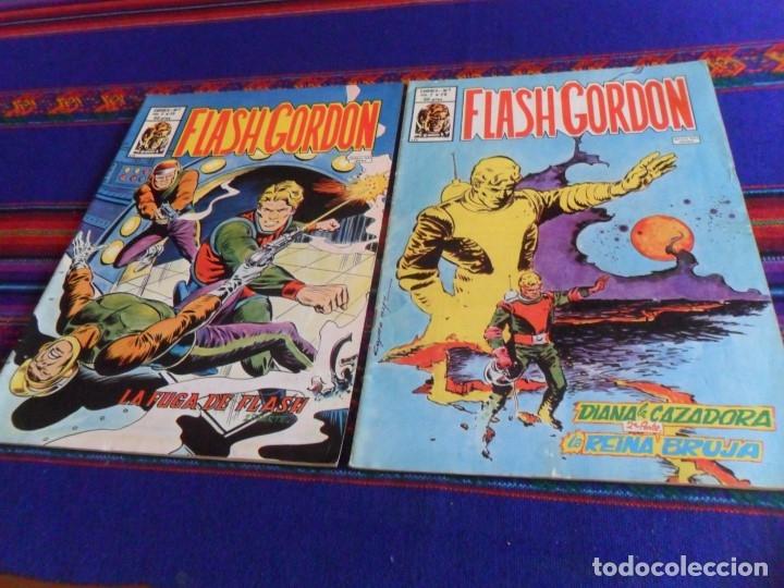 BUEN ESTADO GENERAL, VÉRTICE VOL. 2 FLASH GORDON NºS 1, 20 Y 35. 1979. 50 PTS. (Tebeos y Comics - Vértice - Flash Gordon)