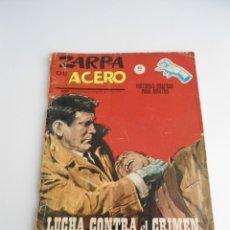 Cómics: ZARPA DE ACERO Nº 3 - LUCHA CONTRA EL CRIMEN - EDICIONES VERTICE 1964 - COMPLETO. Lote 127683003