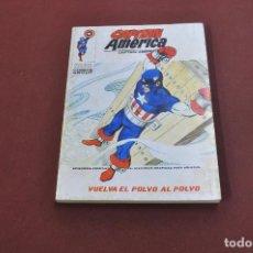Cómics: CAPITAN AMERICA - VUELVA EL POLVO AL POLVO - NÚMERO 34 AÑO 1974 - CO2. Lote 127741927
