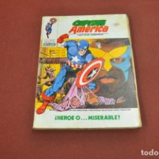 Cómics: CAPITAN AMERICA - ¿ HEROE O ... MISERABLE ? - NÚMERO 27 AÑO 1973 - CO2. Lote 127742343