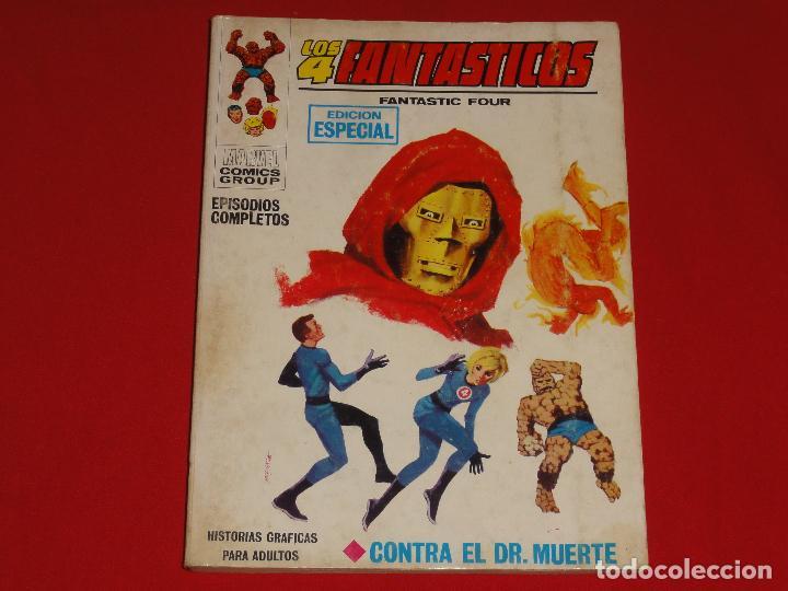 4 FANTASTICOS Nº 3. VOLUMEN 1. VERTICE. C-25 (Tebeos y Comics - Vértice - V.1)