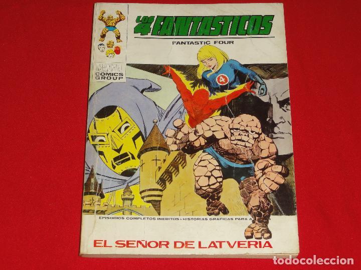 4 FANTASTICOS Nº 42. VOLUMEN 1. VERTICE. C-25 (Tebeos y Comics - Vértice - V.1)