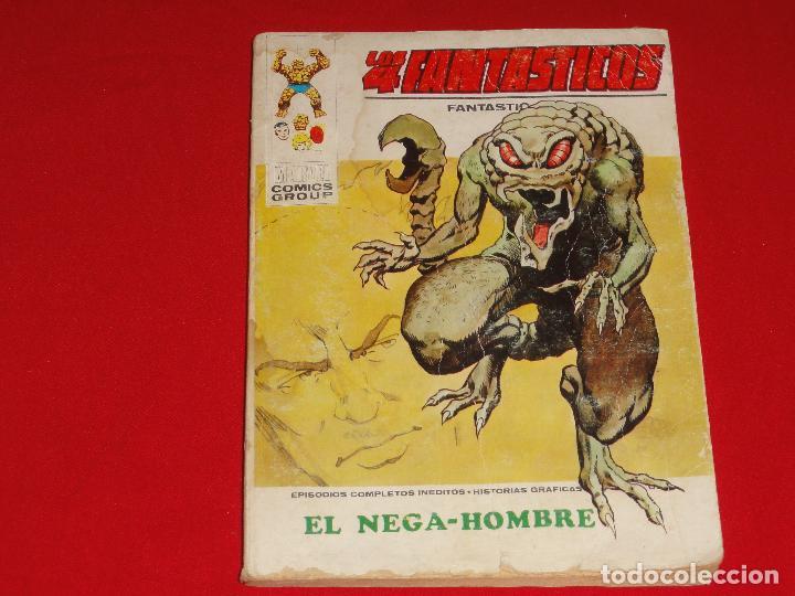 4 FANTASTICOS Nº 54. VOLUMEN 1. VERTICE. C-25 (Tebeos y Comics - Vértice - V.1)