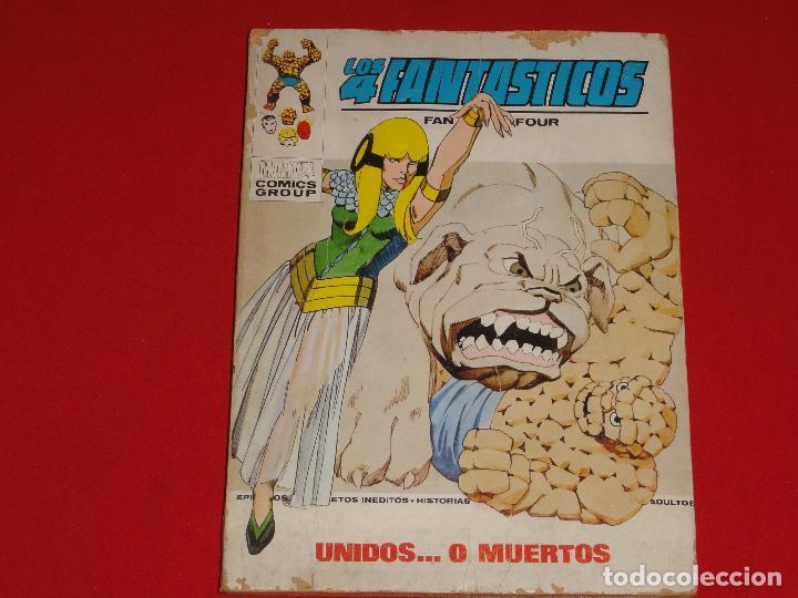 4 FANTASTICOS Nº 59. VOLUMEN 1. VERTICE. C-25 (Tebeos y Comics - Vértice - V.1)