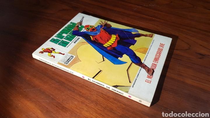 EL HOMBRE DE HIERRO 31 MUY BUEN ESTADO VERTICE (Tebeos y Comics - Vértice - Hombre de Hierro)