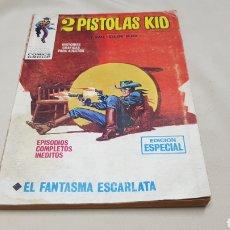 Cómics: 2 PISTOLAS KID,N°4 EL FANTASMA ESCARLATA , VERTICE. Lote 128004274