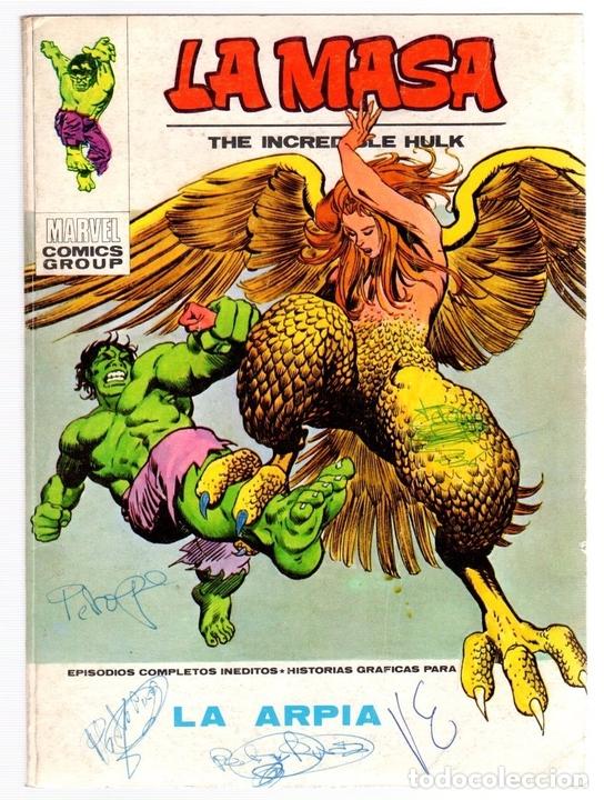 LA MASA. LA ARPIA. Nº 33. VERTICE. AÑO 1973 (Tebeos y Comics - Vértice - La Masa)
