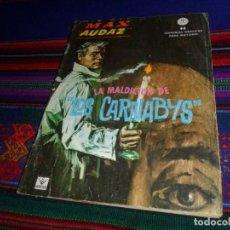 Cómics: VÉRTICE GRAPA MAX AUDAZ Nº 12. 10 PTAS. 1966. LA MALDICIÓN DE LOS CARNABYS. BUEN ESTADO. DIFÍCIL.. Lote 128252359