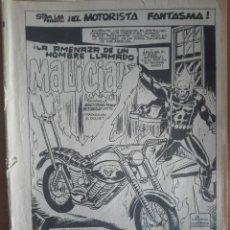 Cómics: EL MOTORISTA FANTASMA 82.VOLUMEN 2.NO HAY MAS EJEMPLARES EN VENTA.. Lote 128257819