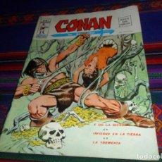 Cómics: VÉRTICE VOL. 2 CONAN Nº 3. 1974. 30 PTS. EL JARDÍN DE LA VIDA Y DE LA MUERTE. DIFÍCIL.. Lote 128259663
